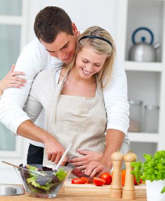 cookin together